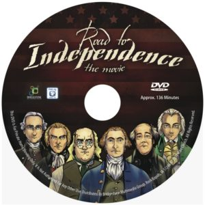 Click to order Mike's Road to Independence-The Movie, Starring a young John Quincy Adams!
