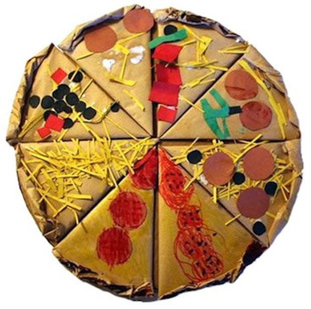 Как сделать пиццу из бумаги