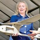 Clinton-drones
