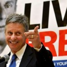 The Libertarian Standard bearer of 2012-Gary Johnson