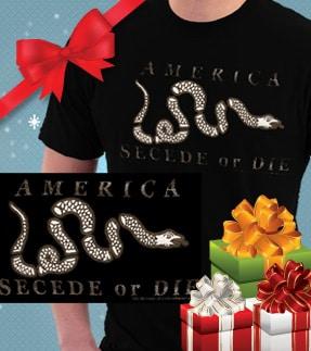 America Secede or Die t-shirt