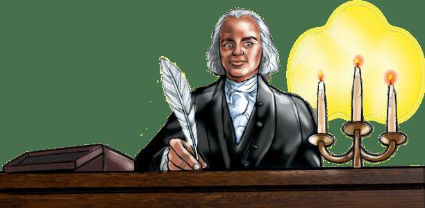 James Madison Writing Constitution