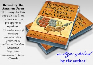Oqwn your AUTOGRAPHED copy of THE book on the American Union's realignment