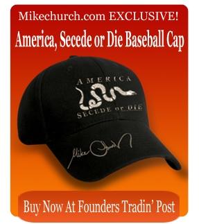 America Secede or Die Baseball Cap