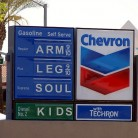 gas prices arm leg