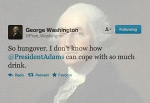 george washington twitter