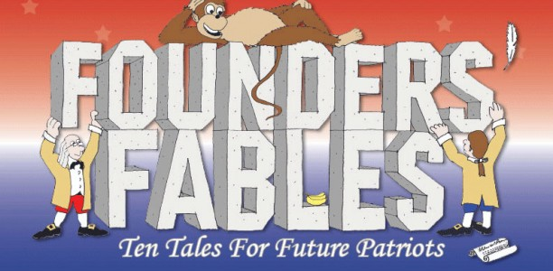 Laurie Pickerell's wonderful children's book about the Founders, signed by the author.
