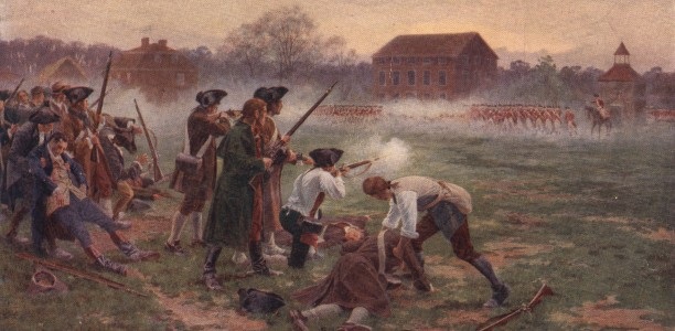 who fired first at lexington and concord essay