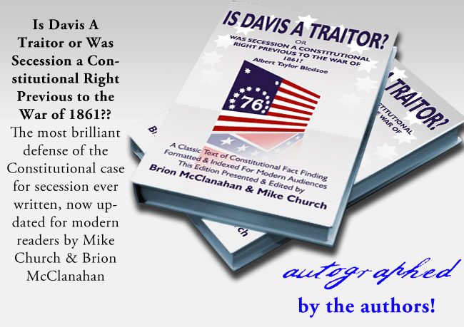 Is Davis a Traitor? In Paperback, get it signed by the Editor!