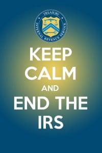 keep calm irs