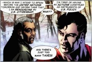 superman citizenship taxes