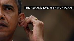 obama sharing