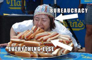 bearucrocy hot dog
