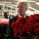 biden roses