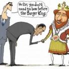 ObamaBowToBurgerKing