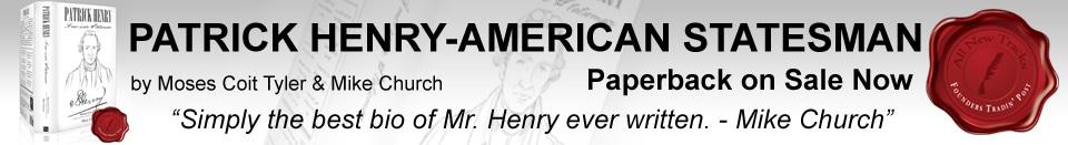 Patrick Henry American Statesman Book