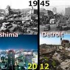 Hiroshima vs Detroit