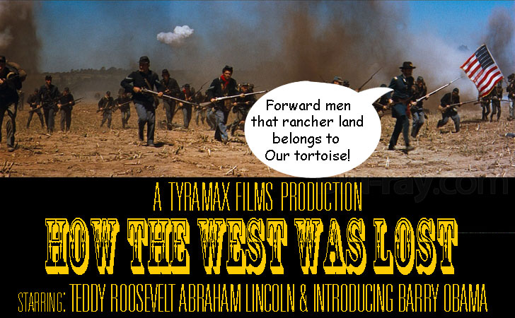How Bundy & the west lost their land