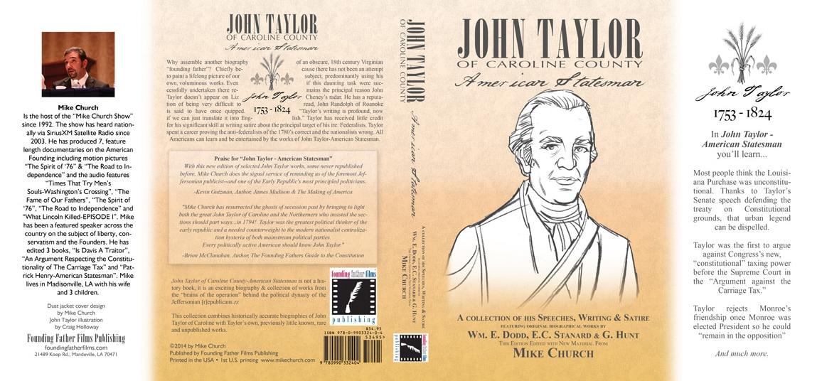 John Taylor dust jacket