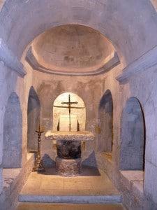 Apt cathédrale Sainte-Anne crypte supérieure