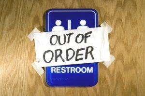 out of order bathroom (gender neutral)